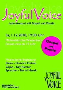 Joyful Voice Konzert 2018