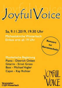 JoyfulVoice Plakat 2019